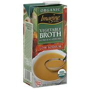 Imagine Foods Fat Free Vegetable Broth, 32 oz (Pack of 12)