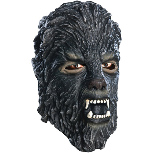Wolfman Latex Mask Adult Halloween Accessory