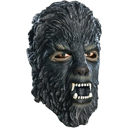Wolfman Latex Mask Adult Halloween Accessory - Wolfman Halloween Masks