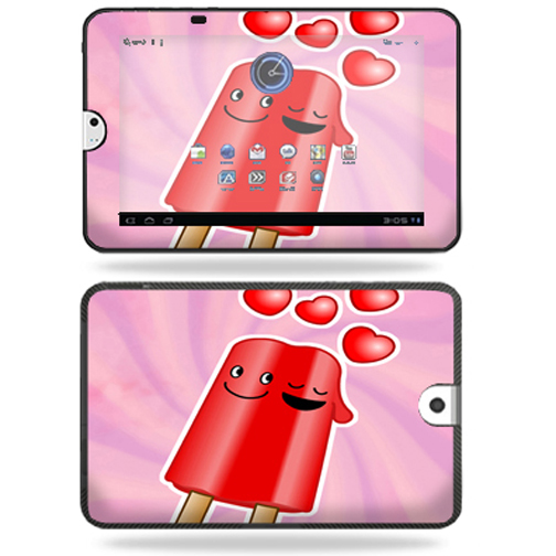 Mightyskins Protective Vinyl Skin Decal Cover for Toshiba Thrive 10.1 Android Tablet wrap sticker skins Popsicle Love