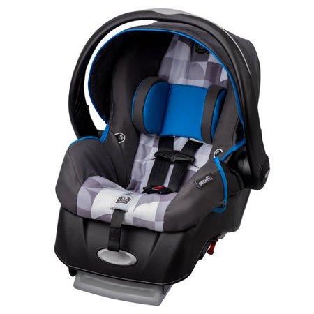 evenflo embrace select infant car seat with sure safe installation choose your pattern. Black Bedroom Furniture Sets. Home Design Ideas