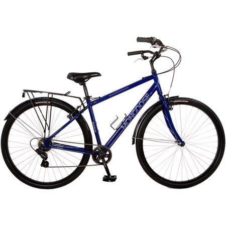 700c Mongoose Xcom Men S Hybrid Bike