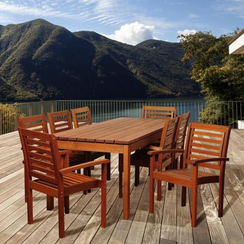 walmart 9 piece outdoor dining set images
