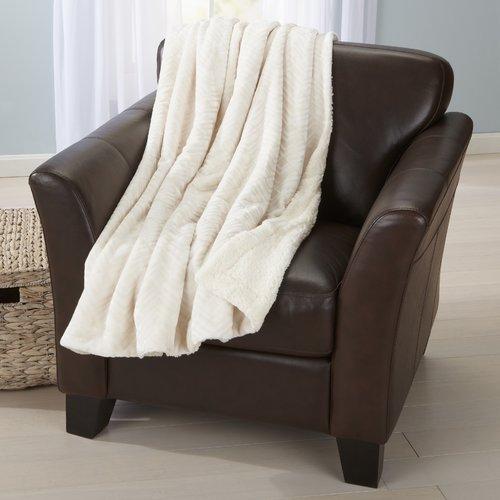 Home Fashion Designs Velvet Plush Luxury Throw Blanket by Home Fashion Designs