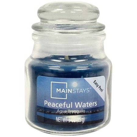 Mainstays 3 oz Candle, Peaceful Waters