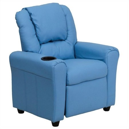 Bowery Hill Kids Recliner in Light Blue - image 5 of 5