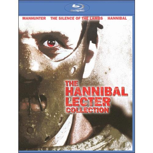 The Hannibal Lecter Collection: Manhunter / The Silence Of The Lambs / Hannibal (Blu-ray)