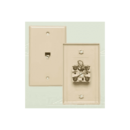 - Allen Tel Products AT216-6 FLUSH JACK 6 WIRE