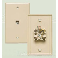 Allen Tel Products AT216-4 FLUSH JACK 4 WIRE