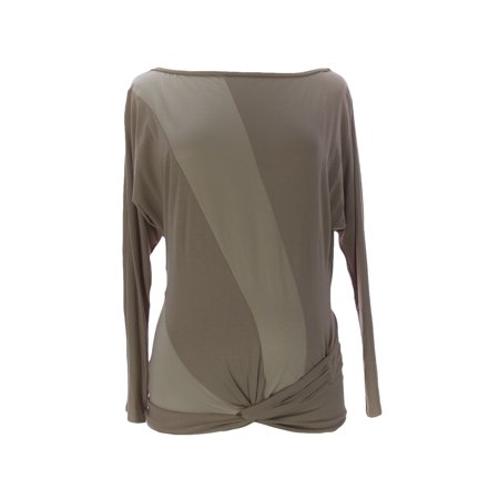 9Fashion Maternity Womens Avis Ii Blouse  Small  Biscuit