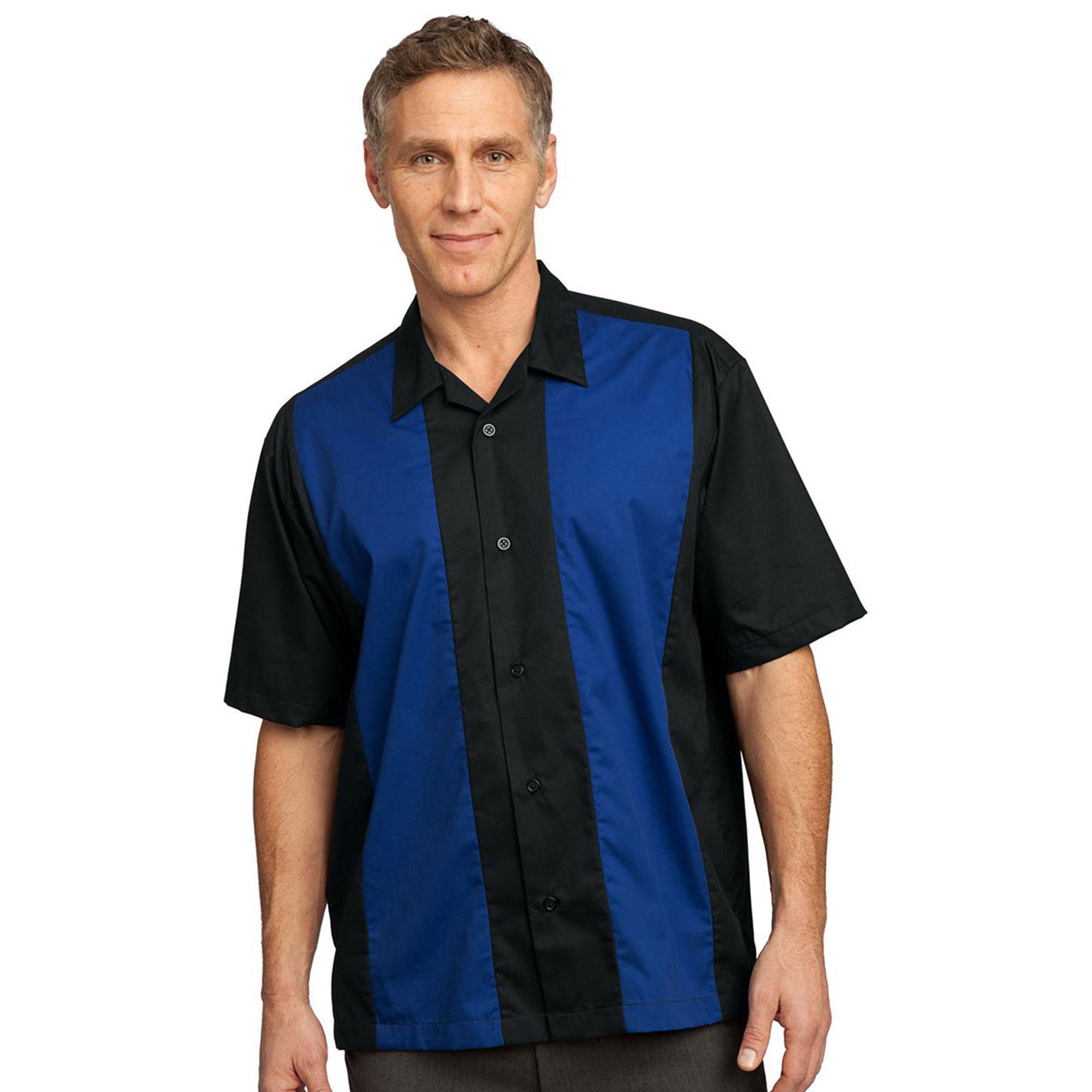 Port Authority Men's Easy Care Retro Camp Shirt