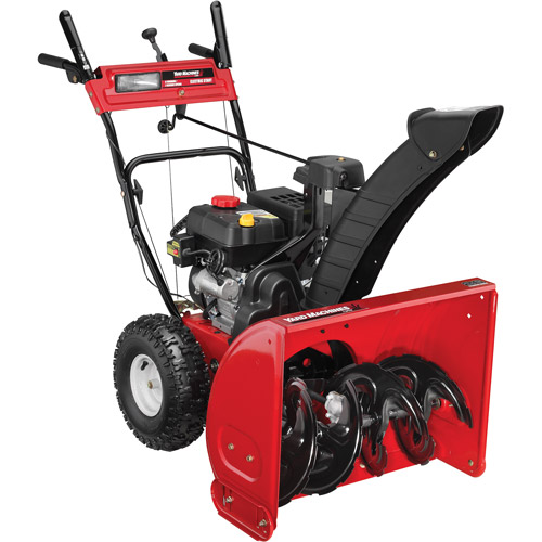 """Yard Machines 26"""" 208cc Two-Stage Snow Blower"""