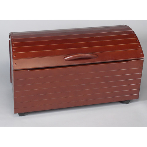 Zoomie Kids Dalrymple Treasure Toy Chest on Casters