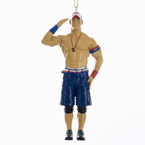 """Kurt Adler 5"""" Resin WWE John Cena Ornament"""