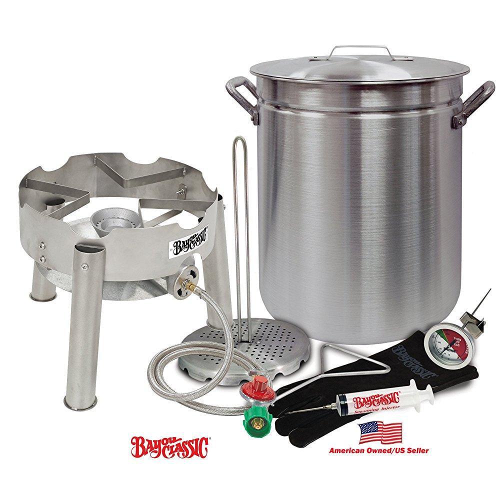 Deep Fryer Kit 42 Quart Aluminum GRAND GOBBLER for 25+ LB...