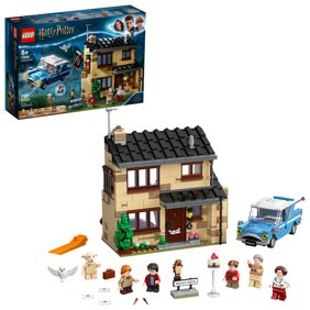 LEGO Harry Potter 4 Privet Drive 75968 Collectible Harry Potter Building Toy for Kids who Love Role-Playing Games (797 Pieces)