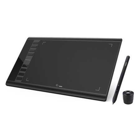 Ugee M708 Upgraded Graphics Drawing Tablet Board with Battery-free Passive  Pen 8192 Pressure Sensitivity 266RPS 10 * 6inch for Windows for Mac OS