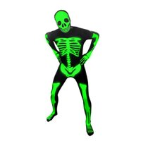 Morphsuits - Glow Skeleton - Adult