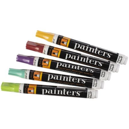 Elmer's Painters (R) Opaque Paint Markers 5/Pkg-Eastern Empire - Medium Point