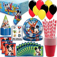 Product Image Mickey Mouse Party Supplies Serves 16