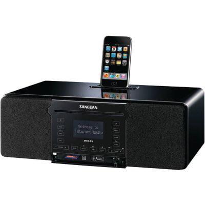 Sangean DDR-63 - Audiosystem mit iPod-Halterung
