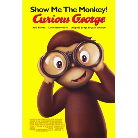 Curious George (2006) 11x17 Movie Poster - Eugene Halloween