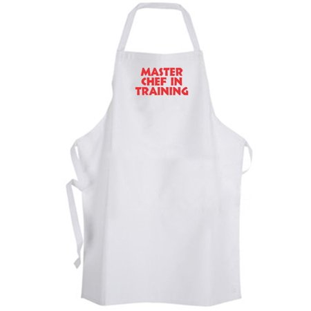 Aprons365 - Master Chef In Training – Apron - Cook Kitchen (Red)