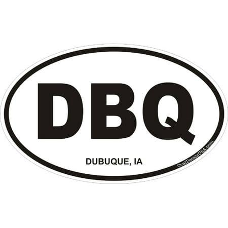 3.8 Inch Dubuque Iowa Oval - Party City Dubuque Iowa
