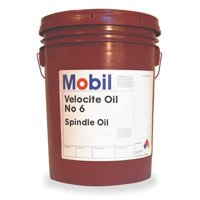 MOBIL Mobil Velocite 6, Spindle Oil, 5 gal 105482