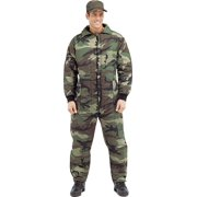 Men's Camouflage Insulated Coveralls
