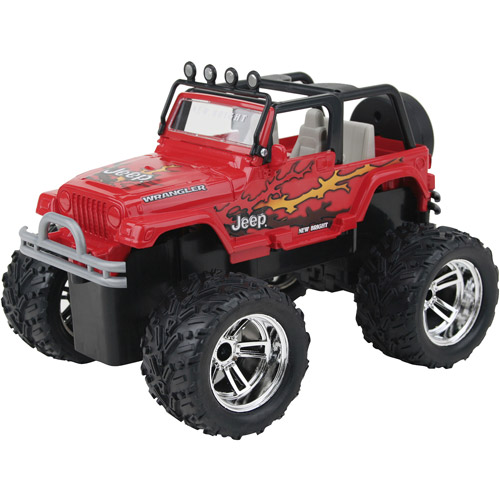 New Bright Jeep Radio-Controlled Vehicle, Red