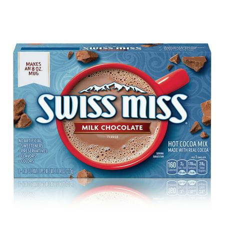 Swiss Miss Hot Cocoa Mix Milk Chocolate - 8ct