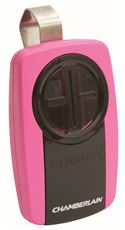 Chamberlain Universal Garage Door Opener Remote, Pink by Chamberlain