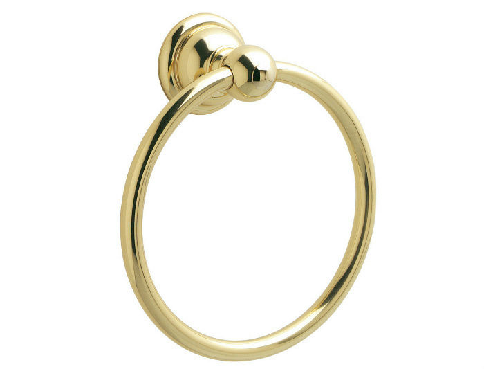 "Price Pfister Georgetown Polished Brass 7"" Towel Ring #BRB-B0PP by Price Pfister"