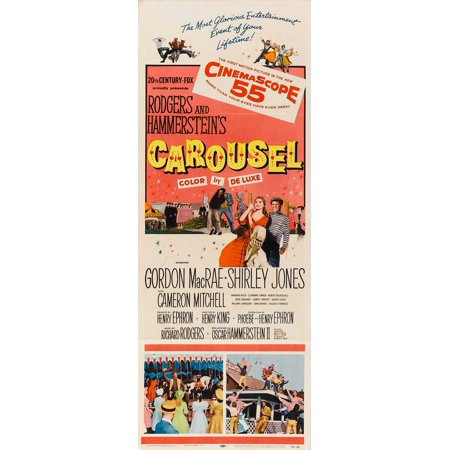 Carousel POSTER Movie Insert A (14x36)