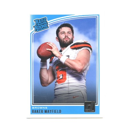 2018 Donruss #303 Baker Mayfield Cleveland Browns Rookie - 1988 Donruss Mlb Rookie Card