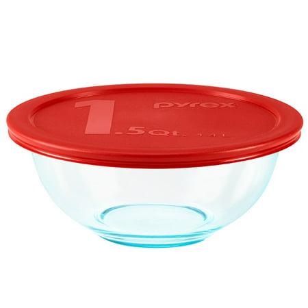 Pyrex® Mixing Bowl, Glass, 8-Piece