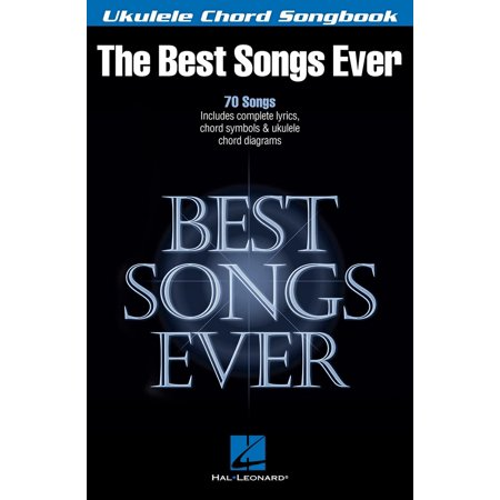 Best Songs Ever - Ukulele Chord Songbook - eBook