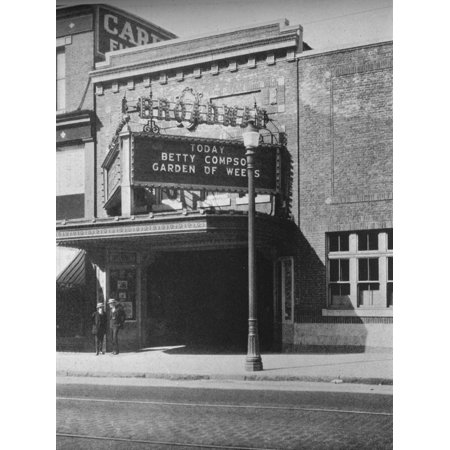 Main entrance, the Broadway Theatre, South Boston, Massachusetts, 1925 Print Wall (Broadways Best South Boston)