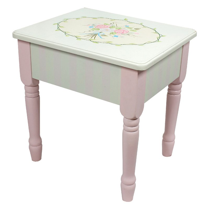Fantasy Fields Bouquet Vanity Stool by Teamson