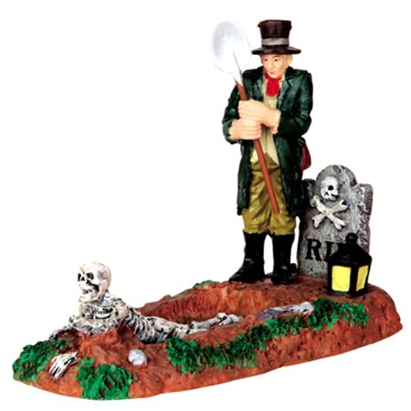 Lemax 42202 GRAVE DIGGER Spooky Town Figurine Halloween Decor Figure](Halloween Figurines)