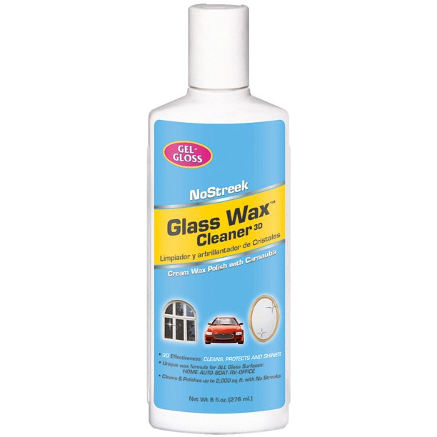 Glass Wax Glass Cleaner and Polish
