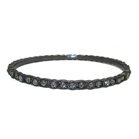 Designer Jewelry 9627HBD-M Designer Bangle Bracelet - Italian Designer Bangle