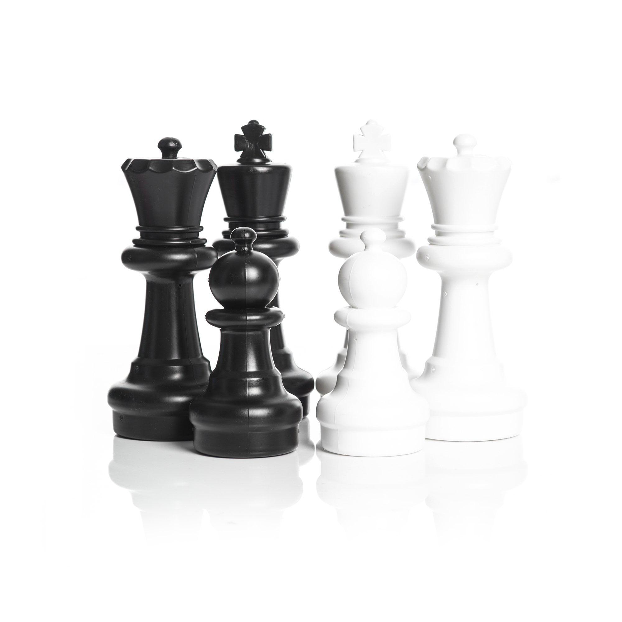 MegaChess 12 Inch Plastic Chess Set (No Board) by MegaChess