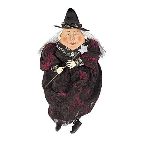 "C & F Enterprises ""Minerva"" Witch Halloween Figure Soft S..."