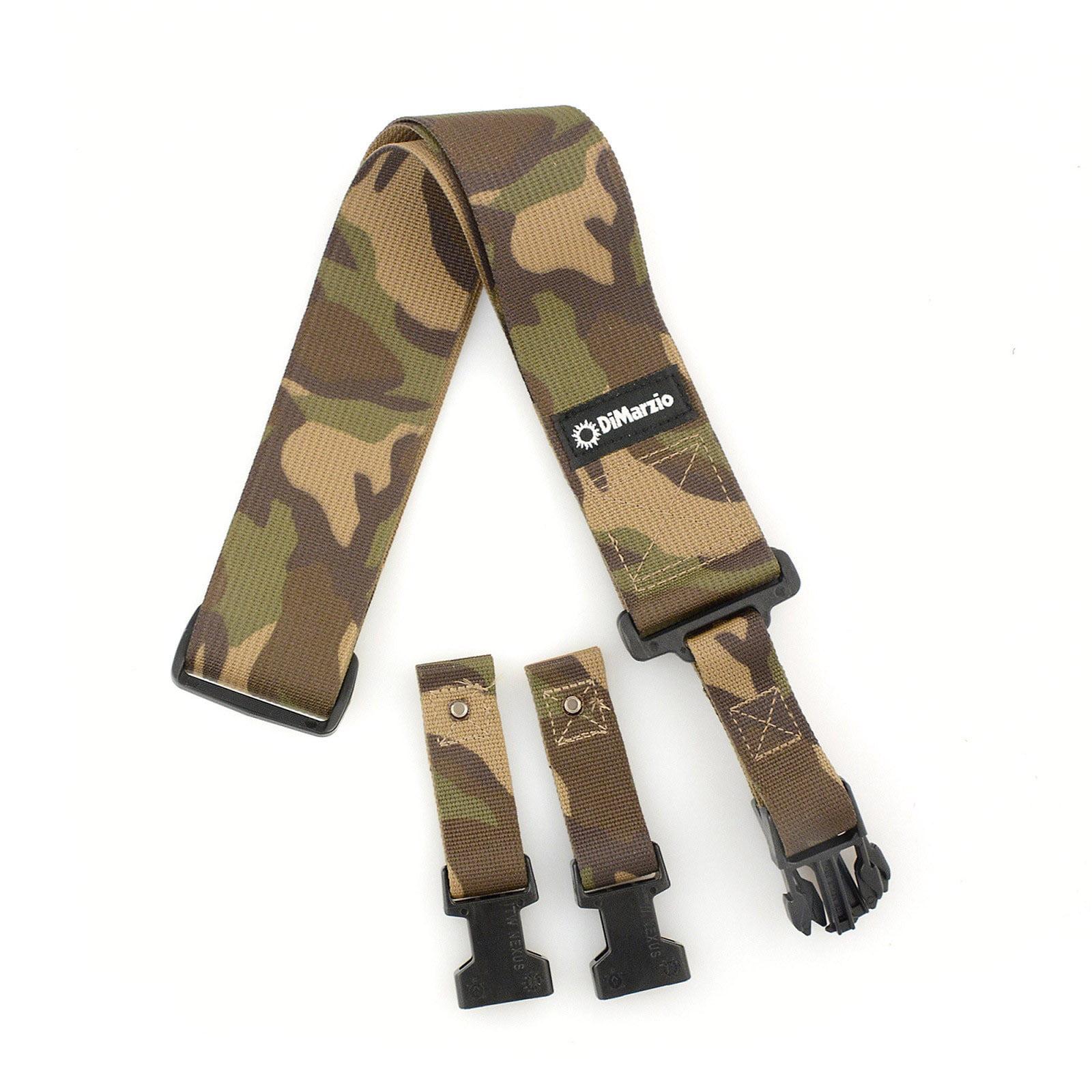 DiMarzio Cordura Fabric ClipLock Strap Nylon 2 Inch Camo by DiMarzio