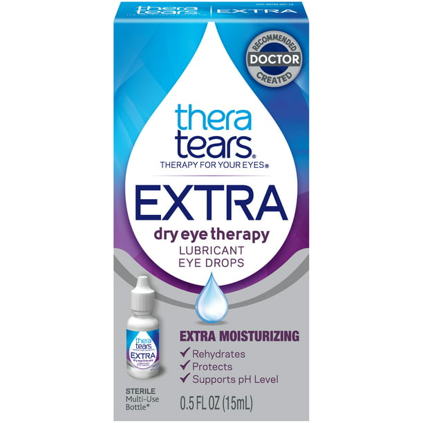 Thera Tears® Extra Dry Eye Therapy Lubricant Eye Drops 0.5 fl. oz.