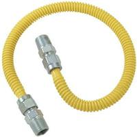BrassCraft CSSD44-48 Gas Dryer and Water Heater Flex-Line