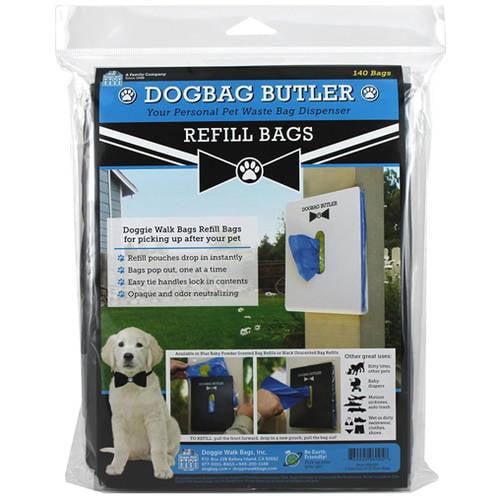 Butler, Refills 2 Pouches, Blue/Powder, 140 Bags