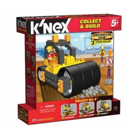 K'nex Construction Crew Steam Roller Knex Building Set